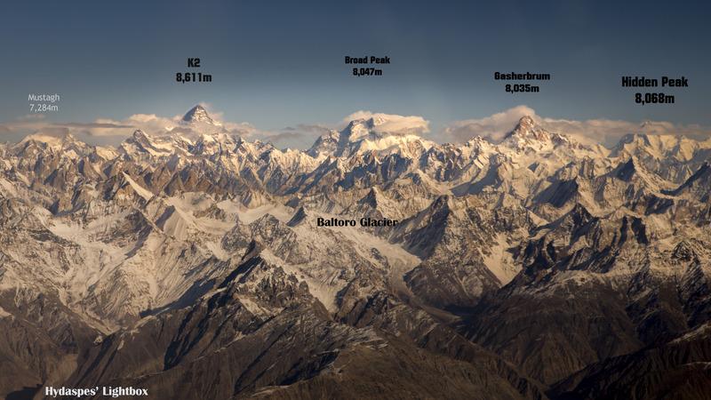 Falling Snow Desktop Wallpaper K2 Mountain Information