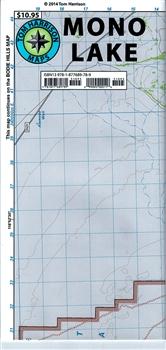 Mono Lake hiking map