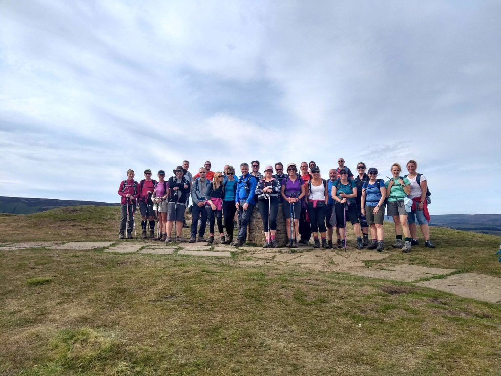 Edale Skyline Group Photo