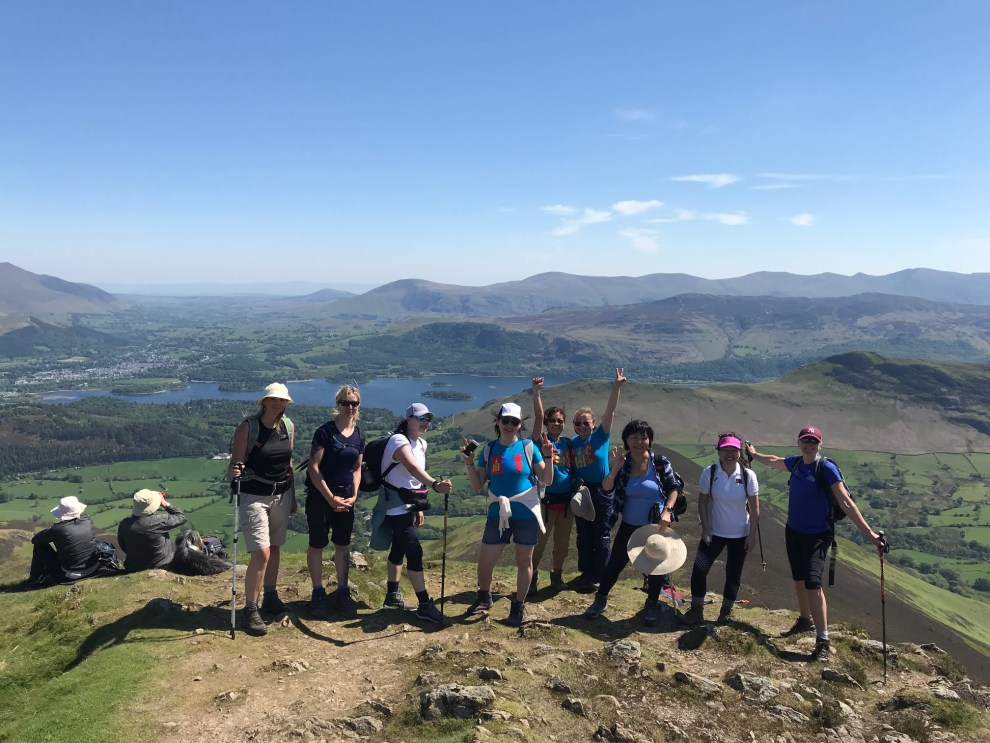Coledale 10 Peak Challenge Group May