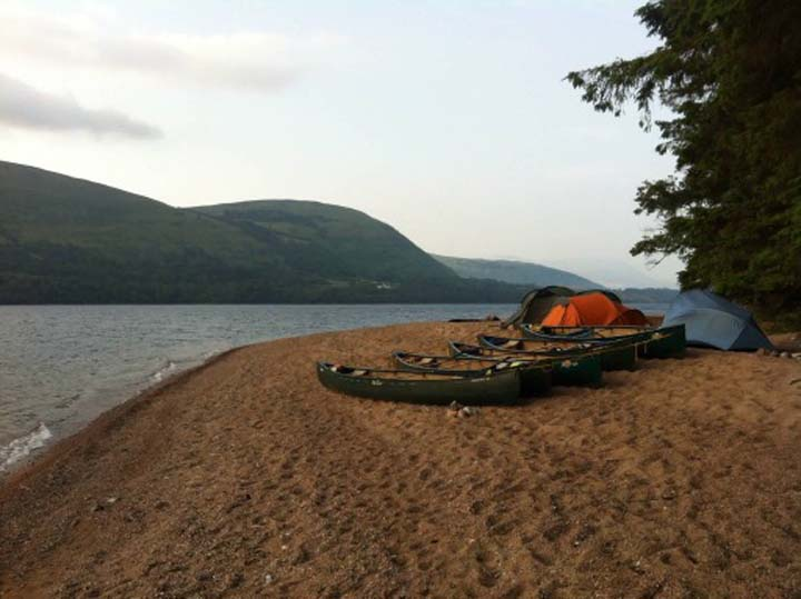 Great Glen Canoe Trail | Mountain Water Expeditions, UK Mountain Skills, DofE and First Aid Courses