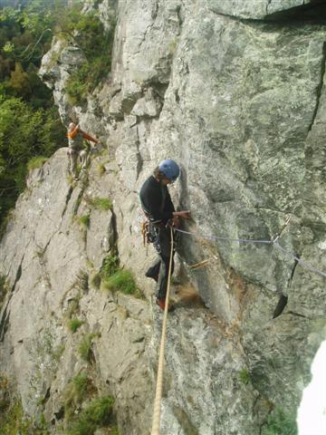 Girdle Traverse, Polney Crag
