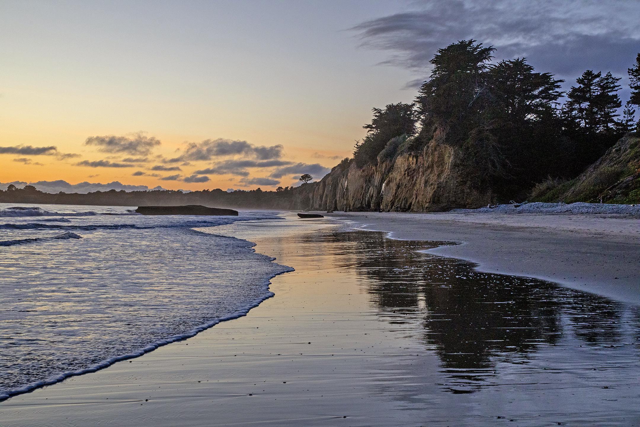 Cove Beach Sunset 1 - Carla Brennan