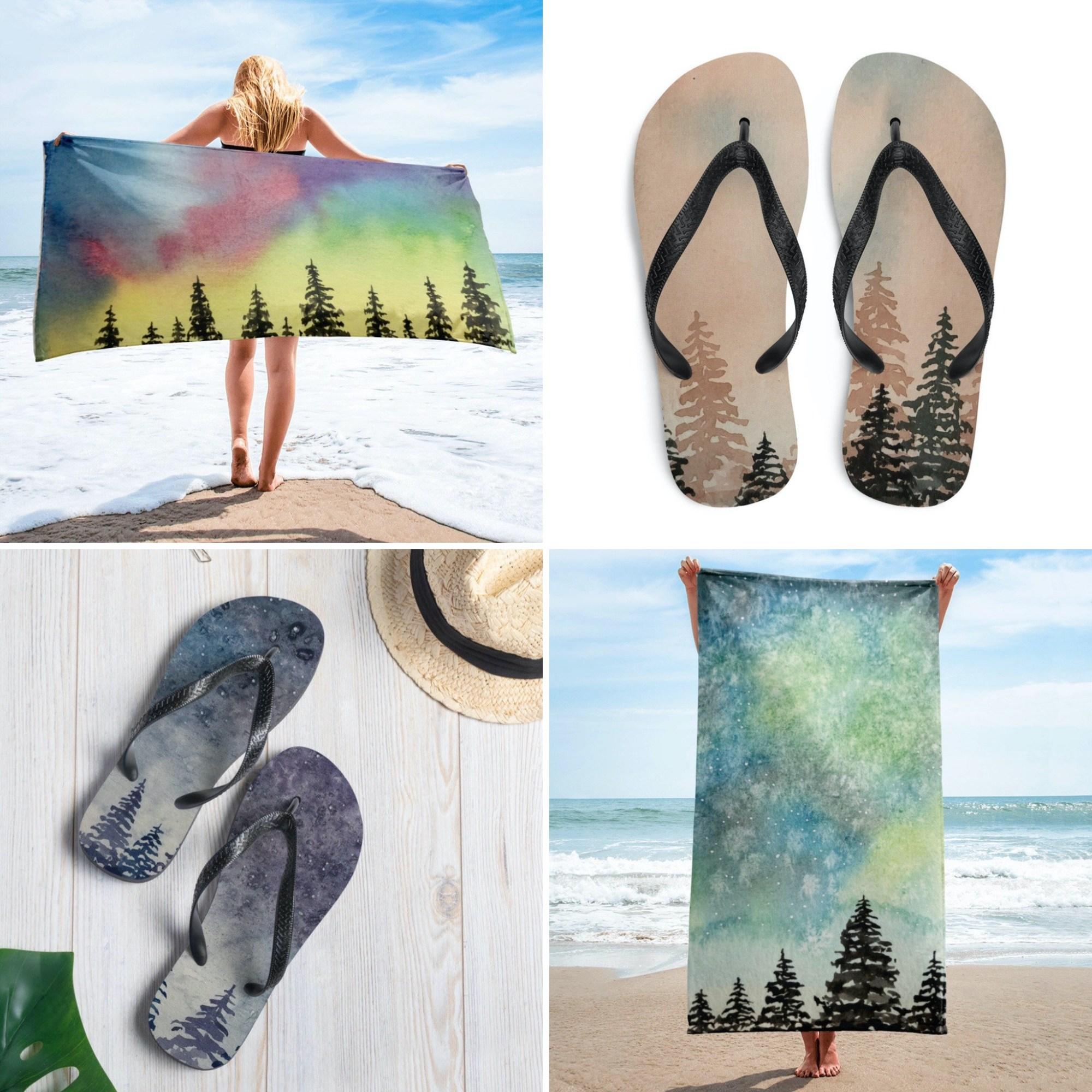 Forest Beachwear Collection - Rebecca Goodman
