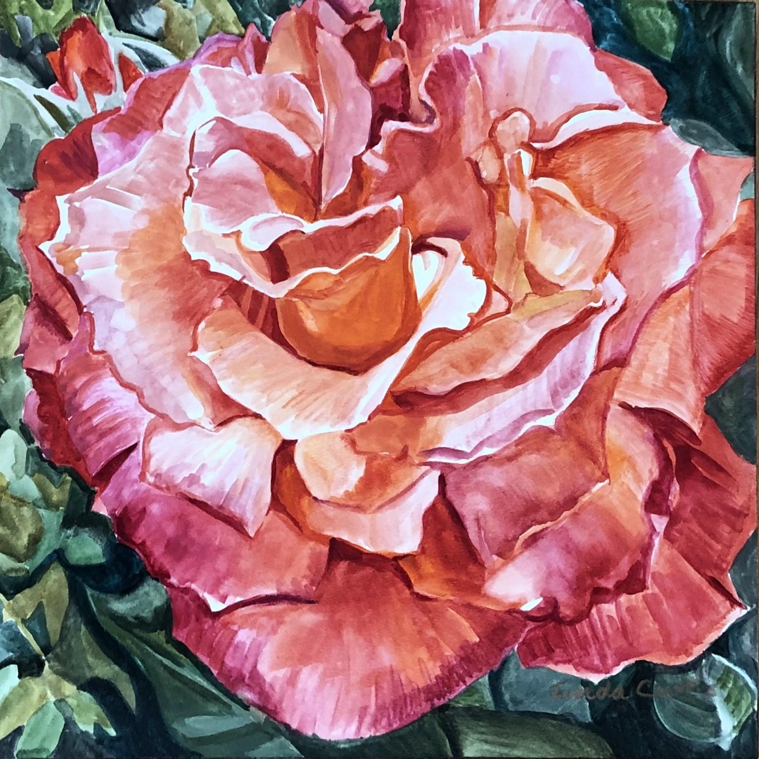 Red Rose - Linda Curtis