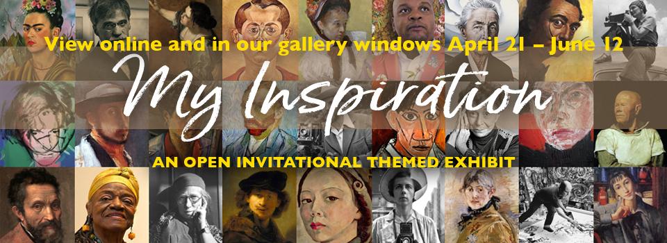My Inspiration Onlie Exhibit at the Santa Cruz Mountains Art Center