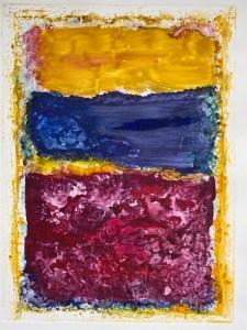 Rothko Interpretation #1 - Martine Mahoudeau