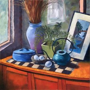 Still Life with Fern Paul Cezanne - Johanna McCormick