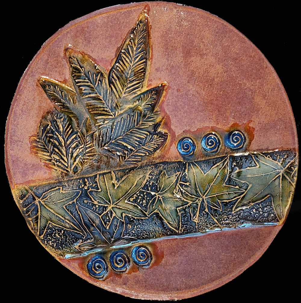 Leaf Platter - Linda Levy