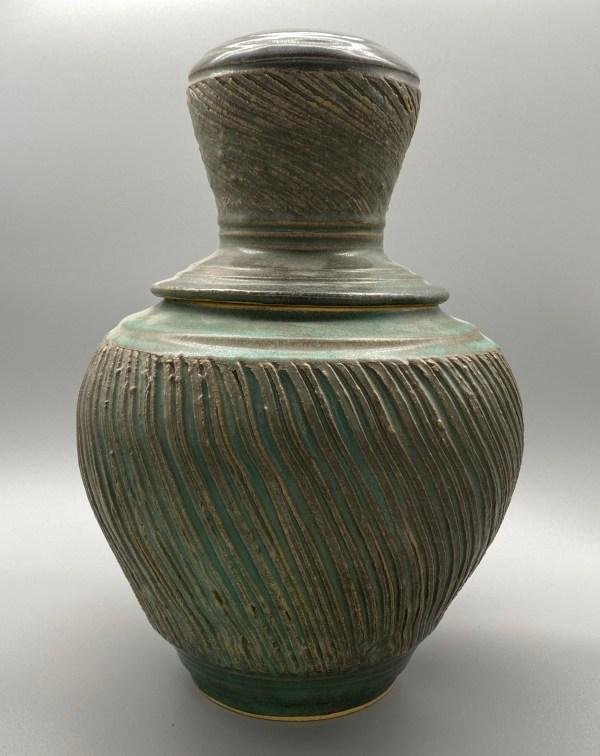 Lidded Urn Vase - Matthew Stout