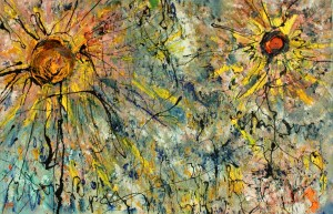 Pollock's Sunflowers - William Bryant