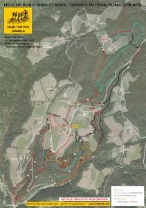 Jamnica mountainbike map karte streckenplan