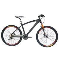 BEIOU® Carbon Fiber Mountain Bike Hardtail MTB 10.65 kg SHIMANO M610 DEORE 30 Speed Ultralight Frame RT 26-Inch Professional Internal Cable Routing Toray T800 Carbon Hubs Matte