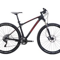 Steppenwolf Men's Tundra Carbon Pro Hardtail Mountain Bike, 29 inch wheels, 20 inch frame, Men's Bike, Black/Red, 99% assembled
