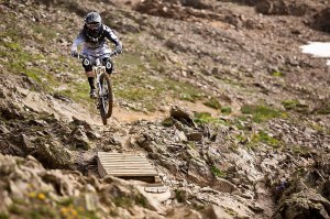 Mountain biking Alpe D Huez