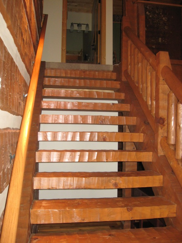 Stairs And Railing - Mountain Construction