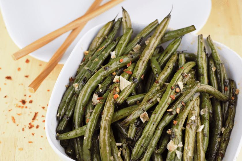 Red Pepper Sesame Green Beans