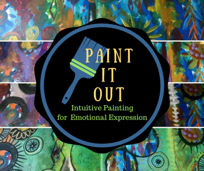 Intuitive Painting Classes at Mountain Creative Arts Counseling