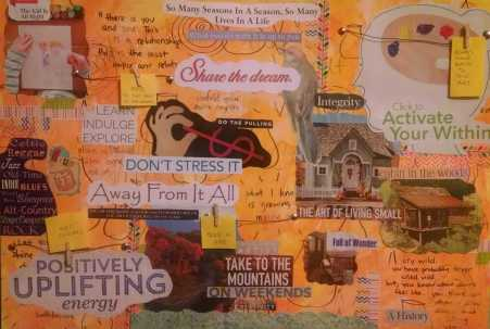 Vision Board Workshop at Mountain Creative Arts Counseling