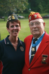 Jill Druskis and Woody Williams