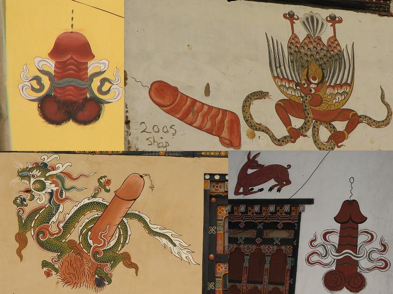 tapeçaria religiosa butanesa com as pingolas flamejantes e protetoras de Kunley