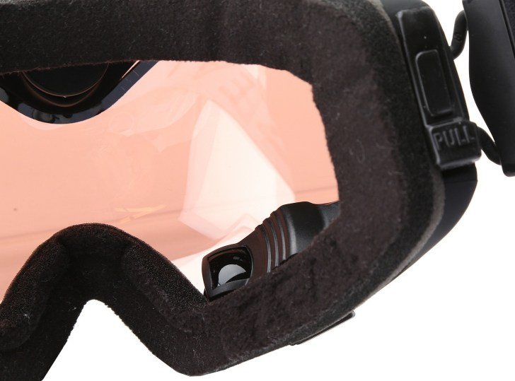 In-goggle viewfinder.