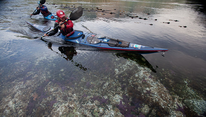 In the Grand Canyon of the  Stikine River, northern BC. Photo by Bryan Smith/Courtesy OutdoorResearch.com
