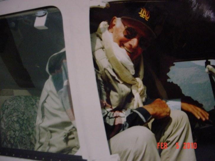 Zeke O'Connor flying into Nepal.