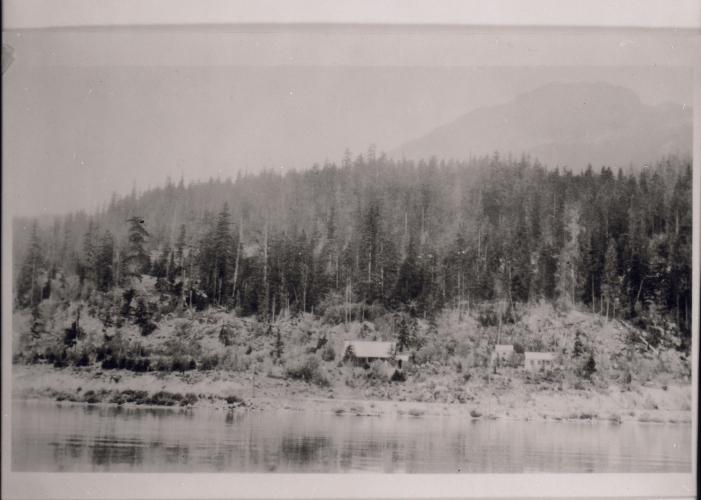 "Brock's ""Primrose Cottage,"" 1929. Photo courtesy Whistler Museum."