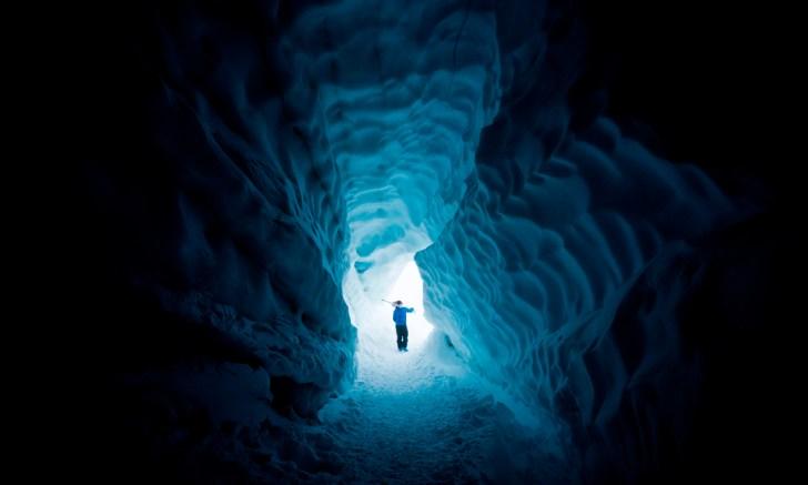 Steve Storey, Blackcomb Glacier.