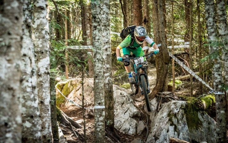 Leonie Picton. Whistler Fall Classic, part of the North American Enduro Tour. Whistler, B.C. Photo: Scott Robarts
