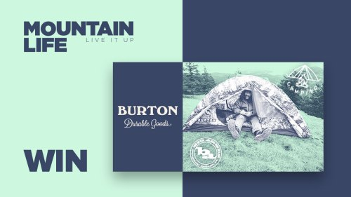 win a burton big agnes chair one camping chair