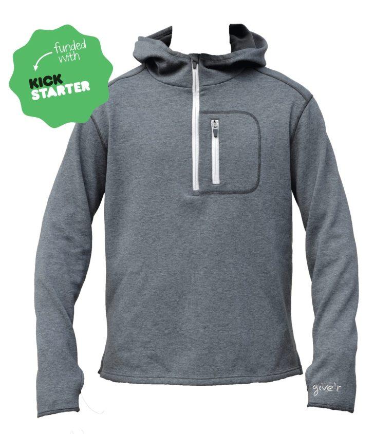 give'r hoodie