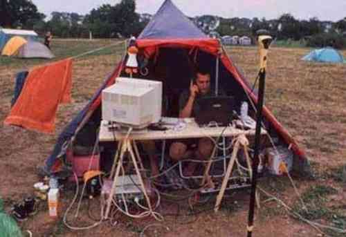 Techy camper