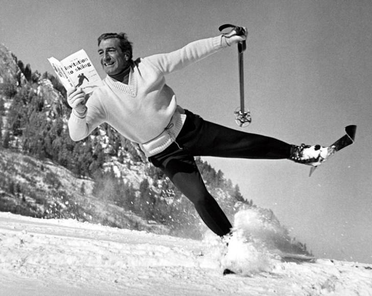 1950's skiing