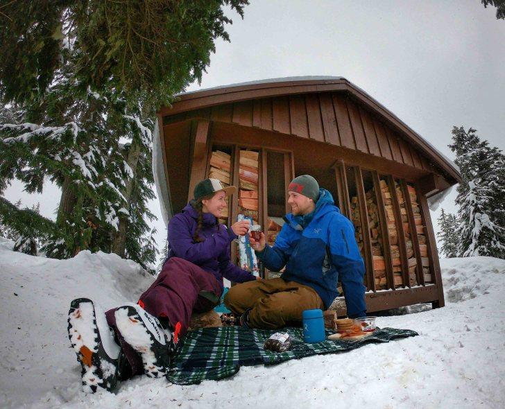 Ski picnic