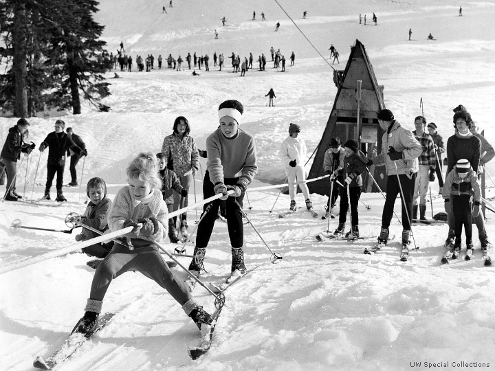 Skiing in the 60's