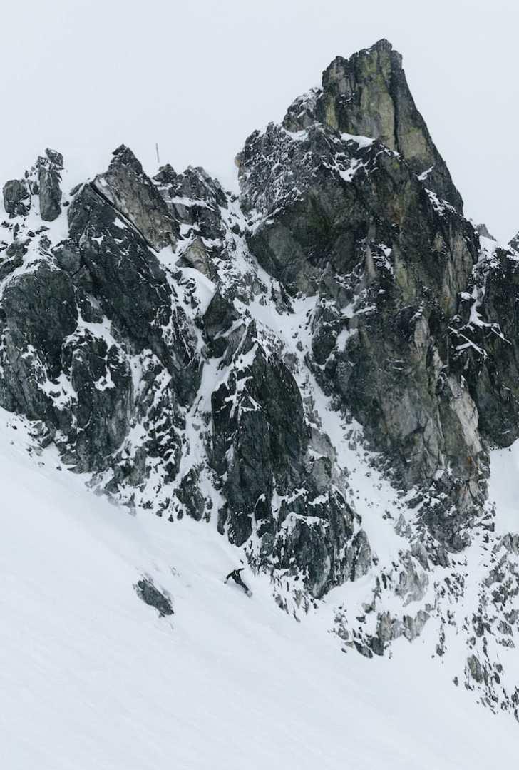 Snowboarding at Whistler Blackcomb