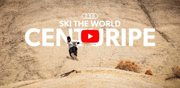 Candide Thovex skiing dirt in Italy