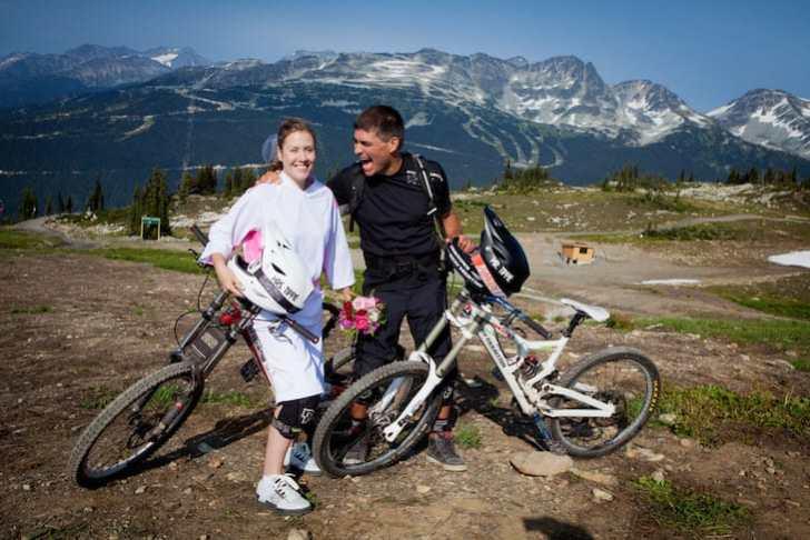Brett Tippie on his Wedding day in Whistler, British Columbia.