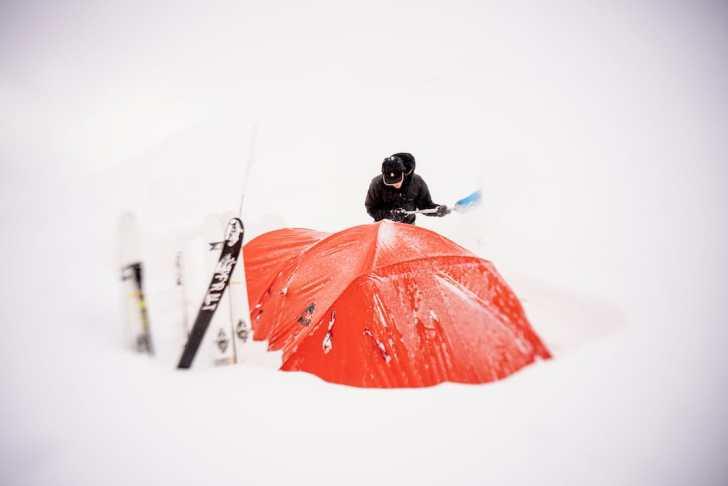 Winter Camping in British Columbia