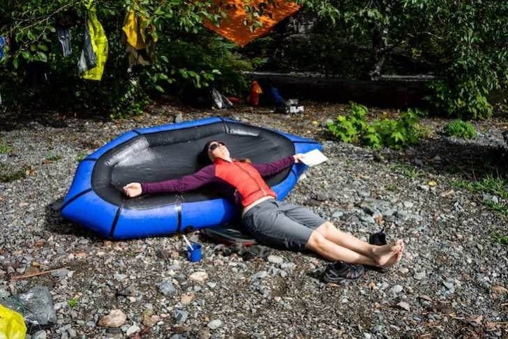 Packrafting the Nitinat Triangle in Vancouver Island, BC