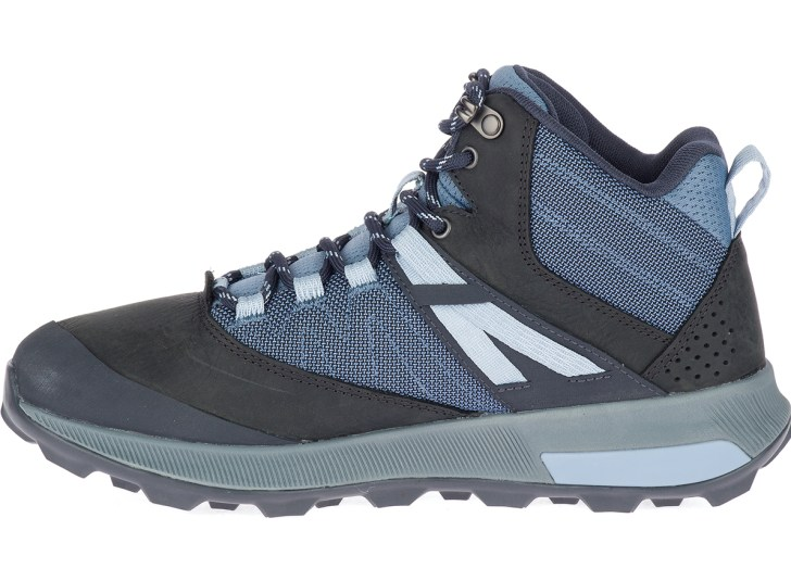 Merrell Zion Mid Waterproof hiker, reviewed by Mountain Life Media