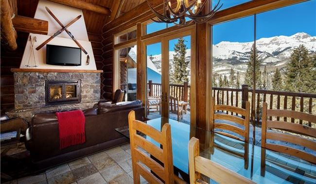sleeper sofas for small areas sofa spring replacement luxurious telluride lodging & cabins - mountain lodge ...