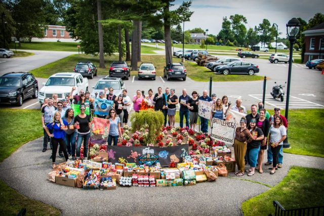 MTN New Gloucester Group with Donations
