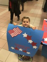 Greeting Veterans at Airport