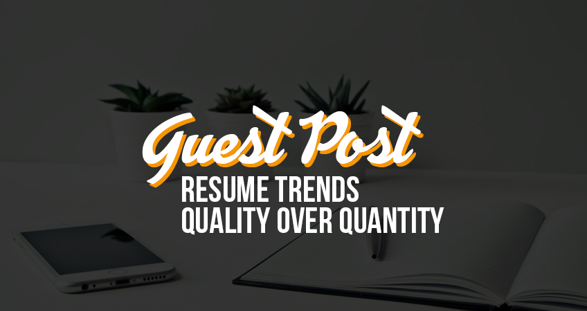 Guest Post Resume Trends