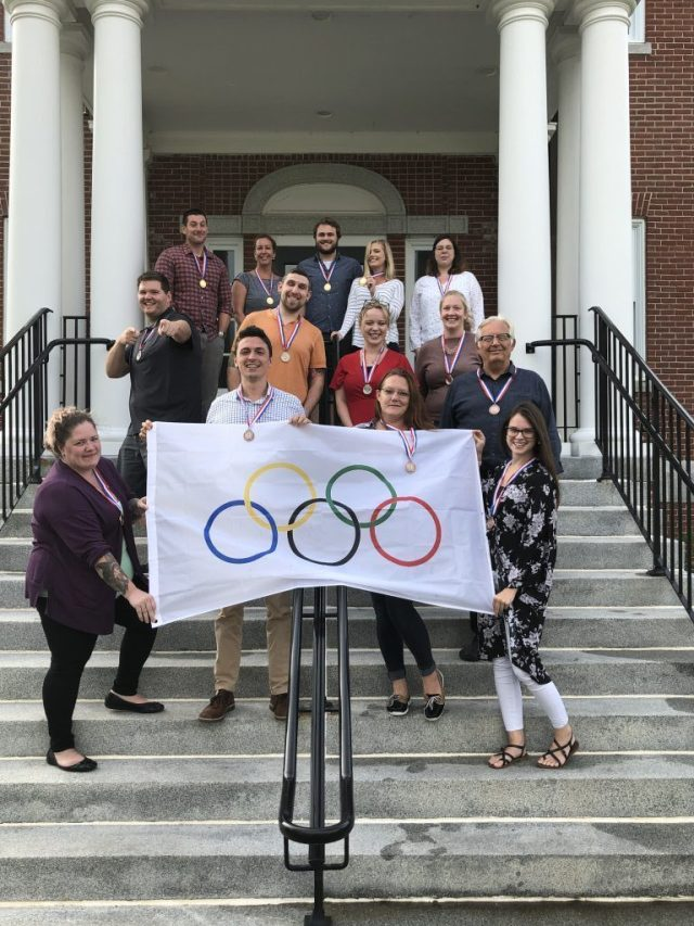 Office Olympics Winners