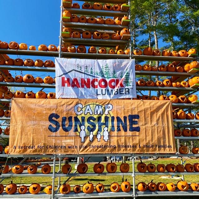 Camp Sunshine Pumpkins