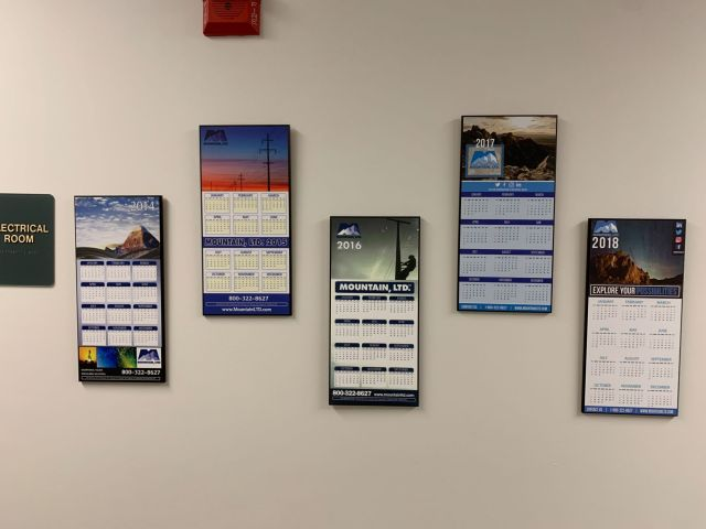 Historical MTN Calendars